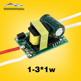 Wholesale 12v Power Supply 1w - Output 280-300Ma DC3-12v 1-3*1w Led Driver Input voltage AC85-265V 1w 2w 3w LED Lamp Driver Power Supply