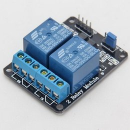 Wholesale Wholesale Arduino - 5V 2 Channel Relay Module for Arduino PIC ARM DSP AVR Electronic Raspberry VE275 W0.5