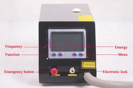 Wholesale Pro Q Switch Yag Laser - Tattoo removal machine Eu tax free Yag laser ND Q Switched Laser beauty machine 1064nm 532nm Spots Freckle REMOVAL Pro spa salon equipment