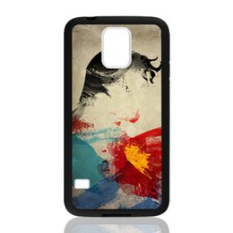 Wholesale S3 Superman - Superman Abstract Painting for samsung galaxy S3 S4 S5 S6 note2 note4 note3 hard plastic cell phone back cover case222