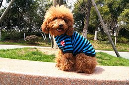 Wholesale Wholesaler Teddy Jacket - The spring summer styles Pet supplies dog clothes the British flag wholesale pet vest Teddy clothes