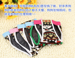 Wholesale Diaper Trousers - Free shipping pet dog strap sanitary Physiological pants dog diapers Trousers