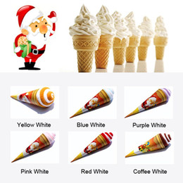 Wholesale Ice Cream Towels - Beauty Ice Cream Towel Multi Color For Wedding Christmas Valentines Birthday Gifts 200pcs
