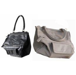 03cb47ce8549 Wholesale-2015 Brand Faux Leather women Pandora box handbag Motorcycle messenger  bag Shoulder Tote Bag 815 L