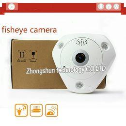 Wholesale Micro Sd Ds - fast free shipping DS-2CD6332FWD-I 3MP Full HD 1080P PoE WDR 360 Degree Fisheye e-PTZ Dome Network IP Camera Micro SD Memory