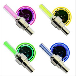 Wholesale Colorful Bicycles - 4 Colors Bicycle Flashing Led Lights Wheel Lights Cycling Light colorful Wheel Bike Light Free Shipping