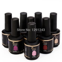 Wholesale Gel Polish Gelexus - Wholesale-2015 New Lily Angel Brand Gelexus Soak Off UV Gel Nail Polish 15ML Bottle 90 Colors 8pcs lot Long Lasting Shinning Nails Art