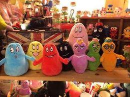 brinquedos do ônibus do gato Desconto Barbapapa 9pcs desenhos animados filme do anime Brinquedos brinquedo macio para meninas bichos de pelúcia animais para o bebê meninas miúdos Presente do amante