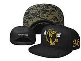 Wholesale Wu Tang Hats - Wholesale-New wu-tang clan bone gorras Adjustable Hip Hop Fashion wu tang snapback hat wutang leather baseball cap wutang clan bone gorras