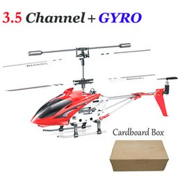 Wholesale Toy Helicopters Yellow Plastic - 3.5CH RC Helicopters With Gyro Remote Control Toys helicopter de controle remoto a Metal vs S107G Radio Control Aircraft Drone