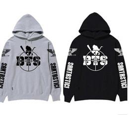 Wholesale Bts Kpop - autumn and winter BTS bangtan boys concert hoodies men and women kpop coat jacket kpopbts poster bts album bts hoodie