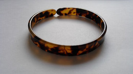 Wholesale Circle Shell - turtle shell bangle tortoise resin bracelet turtle resin bracelet 1.20cm (0.47inch) x 7.00cm (2.76inch)