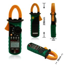 Wholesale Rms Multimeter - MASTECH MS2108S True RMS Digital AC DC Current Clamp Meter Multimeter Capacitance Frequency Inrush Current Tester VS MS2108