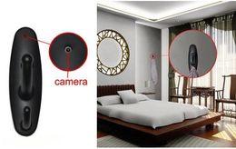 Wholesale Hidden Camera Clothes - 720*480 AVI Clothes Hook camera Motion Detection camera Spy Camera Hidden DVR Cam Black for home use