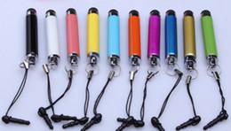 Wholesale Low Price Pen - good qualiy low price touch screen pen stylus pen inpone pen brand custom logo 1000pcs free shipping