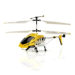 Wholesale Smart Rc Helicopter - Wholesale-New 3.5CH RC Smart Helicopter Radio Controlled by iPhone iPod Touch iPad Yellow