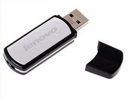 Wholesale Pent Drive Lenovo - 100% real capacity 8GB Lenovo T180 USB flash drive pendrive USB 2.0 stick Memory stick pen drive with retail package free dropshipping