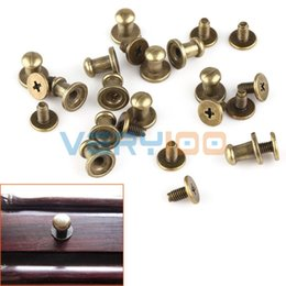 Wholesale Drawer Chest Cabinets - Wholesale- 12 pcs Decorative Mini Jewelry Box Chest Case Drawer Cabinet Door Pull Knob Handle