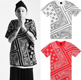 Wholesale Ktz Bandana T Shirt - Tyga Justin Bieber t shirt RHUDE LA Bandana KTZ hip hop t-shirt streetwear tshirts KTZ men Harajuku XXXL 4XL 5XL mens tees tops