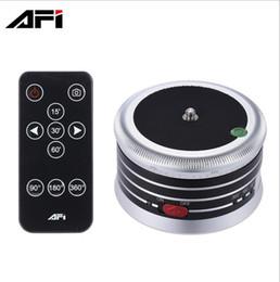 2019 mini transmisor de cámara 2017-AFI MRA01 cabeza de trípode profesional Electric 360 cabeza de la bola del panorama con control remoto para cámara de acción Smartphone SLR