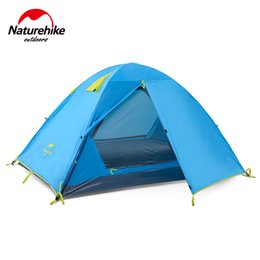 Wholesale Parking Tents - Wholesale- Naturehike 3 Person 190T Aluminum Rod Waterproof Hking Travel Trekking Cycling Family Party Park Beach Outdoor Camping Tent