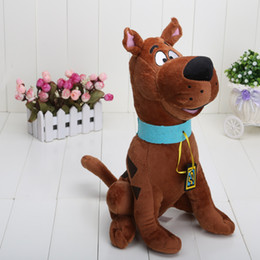 "Wholesale Plush Toy Big Dog - High Quality Soft Plush Cute Scooby Doo Dog Dolls Stuffed Toy New 13"" Wholesale and Retail"