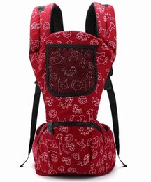 Wholesale Floral Shoulder Baby Carrier - Hot Selling most popular baby carrier Top baby Sling Toddler wrap Rider baby backpack high grade Activity&Gear suspenders