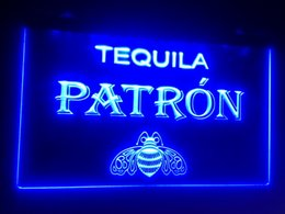 Wholesale Tequila Bar Signs - b-132 Tequila Patron logo LED Neon Light Sign