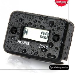 Wholesale Racing Boats - Digital Engine Tach Hour Meter Tachometer Gauge Inductive LCD for Gasoline Engine Racing Motorcycle ATV Mower Snowmobile Boat
