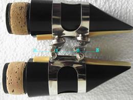 Wholesale Clarinet For Parts - 1 set Bb Clarinet mouthpiece ligature & cap Clarinet parts