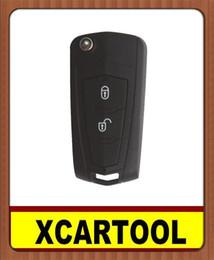Wholesale Hyundai Remote Car Key Shell - car Auto key for Modified Remote Flip Key Shell (Battery Separate) for Hyundai Santafer Old Elentra 5pcs lot