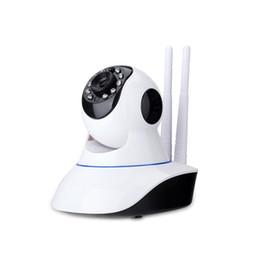 Prix usine Sécurité à la maison vision de nuit détection de mouvement deux antenne p2p 720p ptz ip caméra Livraison gratuite ? partir de fabricateur