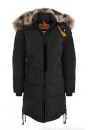 Wholesale Long Bear Parka - Hot! 2018 Wineter New classical Woman Longer Bearing parka coat Fashion Jacket lady jacket with big fur Free shipping