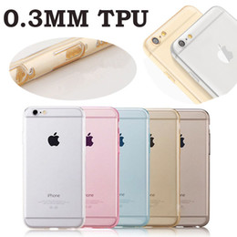 Wholesale Dust Plug Silicone - New TPU Case for iPhone 6 6S Camera Protection Silicone Gel Transparent back Cover Skin Round Lens Hole with Dust Plug MOQ:10pcs