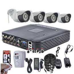 Wholesale Motion Kit Camera Security - MHK 8CH 960H CCTV System Waterproof Video Recorder 1200TVL Home Security Camera Surveillance Kits Motion Dectection Alarm System