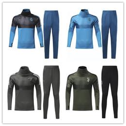 Wholesale Free Suits - New 2017 2018 DYBALA Football jacket tracksuit 17 18 HIGUAIN de foot MARCHISIO Real Madrid Man United jacket Training suit free shipping