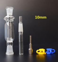 Preço de palha de plástico on-line-Honey Straw Concentrate com clipe de plástico 10MM Titanium Tip EM ESTOQUE !!! Preço de fábrica ! mini tubulações de vidro
