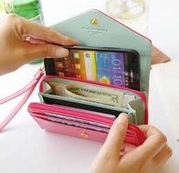 Wholesale Crown Wallet Iphone Coin - Donbook Crown Smart Pouch Purse Coin Bag Flip PU Leather Case Women Wallet For IPhone 4S 5S 6 plus Samsung S6 edge S5 note 3 4