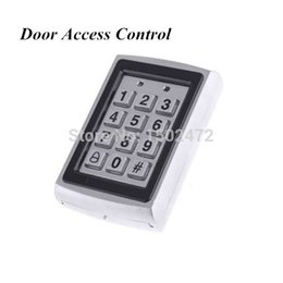Wholesale Waterproof Door Access - Factory Outlet Door Mirror RFID Reader & Keypad Door Access Control Waterproof Metal Keypad Case