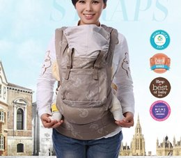 Wholesale cotton baby carrier - Organic cotton baby carrier Newborn Baby Sling Portable kid carriage wrap sling activity&gear