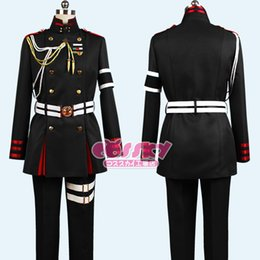 Wholesale Men S Attire - costume toupee Owari no Seraph of the End Guren Ichinose Cosplay Costume Attire Outfit Uniform For Men