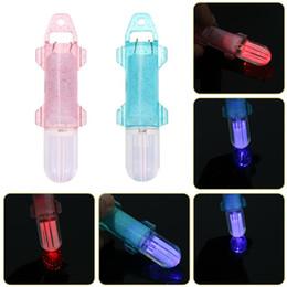 Wholesale Deep Drop Fishing Lights - LED Deep Drop Underwater Diamond Fishing Flash Light Fiber Lamp Attract Bait Lure Fish Lights Attracting Indicator Strobe