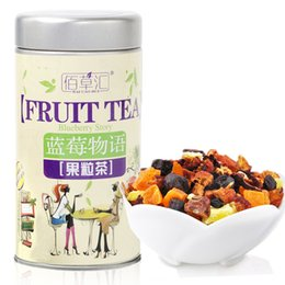 Wholesale Chinese Dried Fruit - 70g 100% NATURAL flower fruit tea,organic dried flavor herbal tea blueberry fruit tea goji Chinese health care China green food
