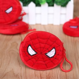 Wholesale Purses Party Favors - Wholesale- 2PCS LOT Kids birthday Party supply baby shower party favors for boy movie character hero change purse