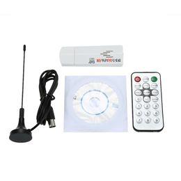 2019 hdmi android mini pc stick 1SET Digital Multifuncional USB 2.0 Mini TV portátil Stick DVB-T + DAB + FM + SDR RTL2832U + R820T Soporte SDR receptor de sintonizador de TV