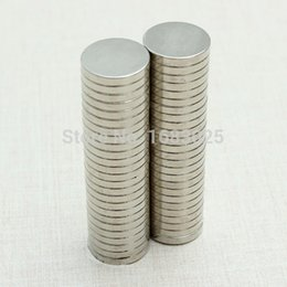 Wholesale Magnet 2mm - 50PCS Silver N52 Super Strong Round Disc 12mm X 2mm Rare Earth Neodymium magnet