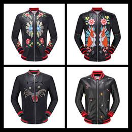 Wholesale Cheap Genuine Leather Jackets - 2017 New Men's High Quality Leather Jacket Jacket Mens Zipper Cardigan T PU Hip Hop Super Cheap Leather Large Size M-3XL