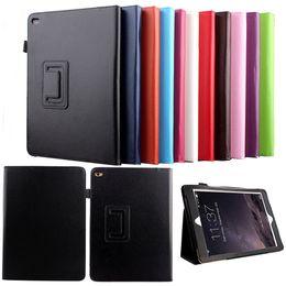 Wholesale Covers Para Ipad - For ipad Folio Case Smart Stand Magnetic Leather Case Cover Auto Wake  Sleep Capa Para Coque for ipad Pro for ipad mini 4