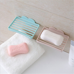 Wholesale Soap Holder Suction Cups - New Arrival Strong Soap Dish Holder Suction Cup Wall Tray Holder Soap Storage Box For Bathroom Shower Tool Perfect Home Decoration