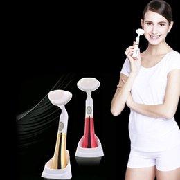 Wholesale Korea Pore Cleansing Brush - Free ePacket Pobling Face Brush Eletrical Facial Cleansing Brush High Quality Korea Pobling Pore Sonic Cleanser 0601067